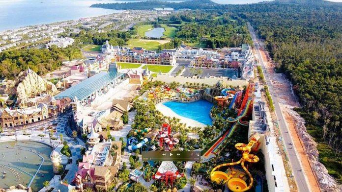 Hình ảnh thực tế 1 VinWonder Phú Quốc tháng 7/2020