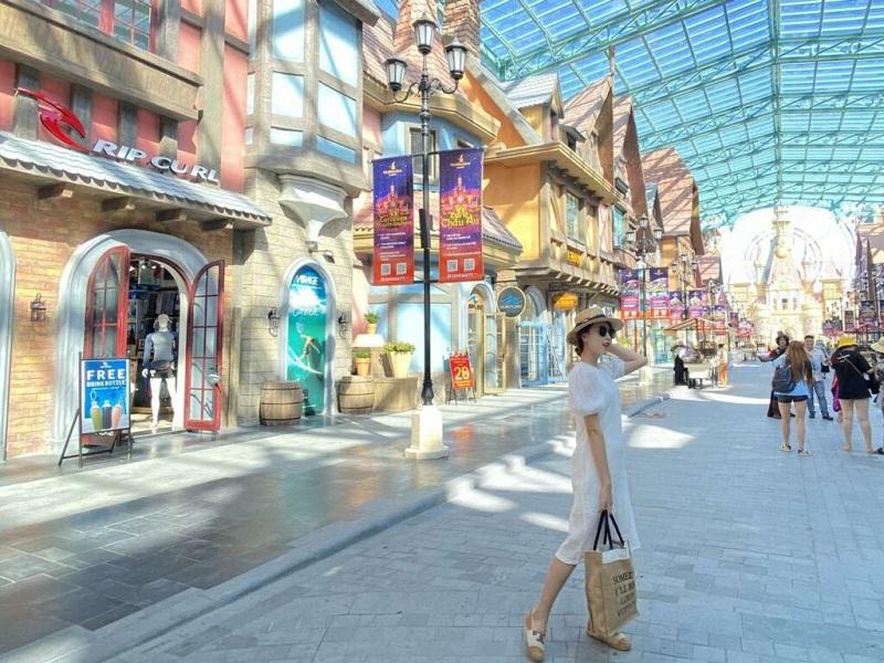 Hình ảnh thực tế 2 VinWonder Phú Quốc tháng 7/2020