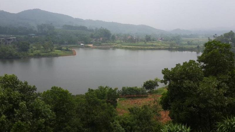 Hình ảnh thực tế Hồ Đồng Chanh 3 dự án nghỉ dưỡng La Saveur Lương Sơn - Hòa Bình