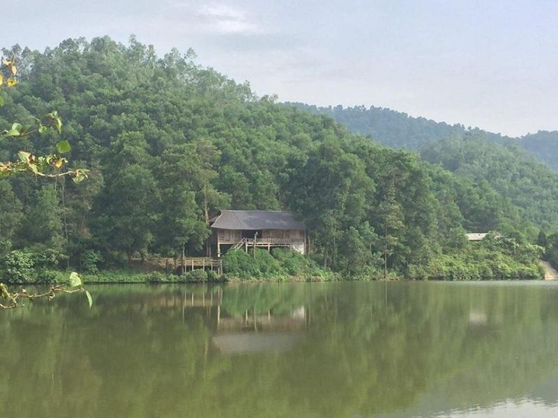 Hình ảnh thực tế Hồ Đồng Chanh 4 dự án nghỉ dưỡng La Saveur Lương Sơn - Hòa Bình