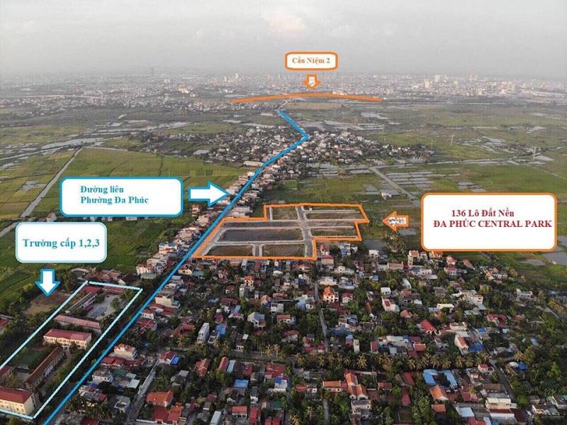 Kết nối giao thông dự án Đa Phúc Central Park - Dương Kinh - Hải Phòng