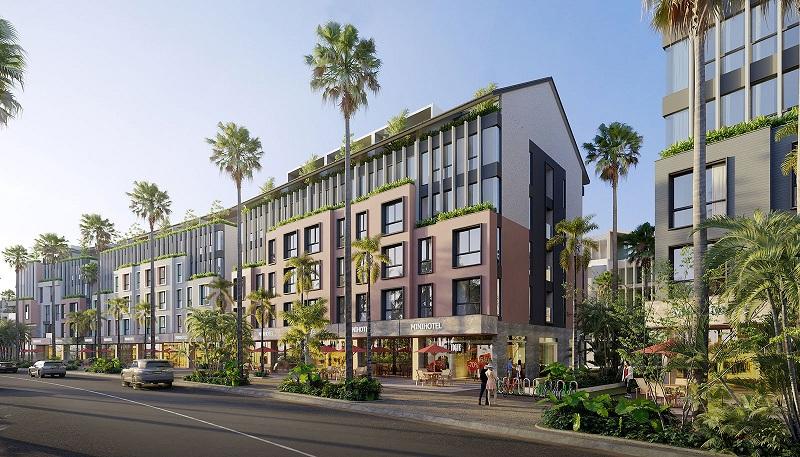 Minihotel dự án Meyhomes Capital Phú Quốc - Tân Á Đại Thành