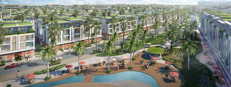 Nội khu dự án Meyhomes Capital Phú Quốc - Tân Á Đại Thành