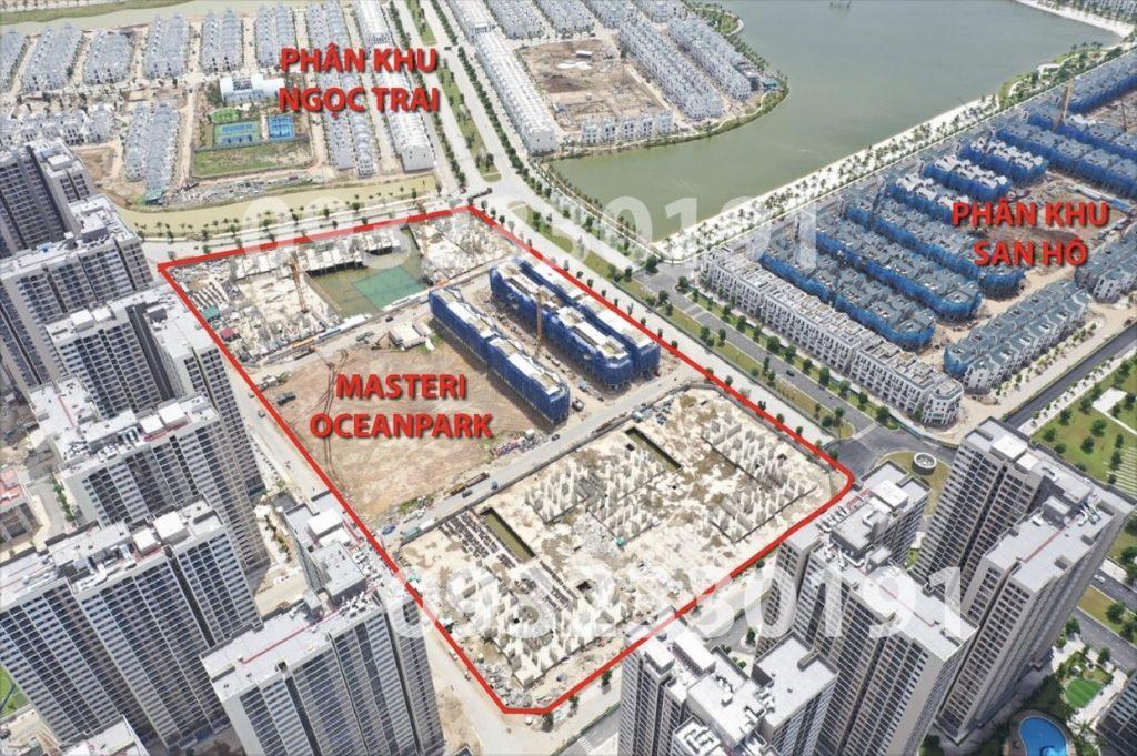 Masteri Ocean Park Thảo Điền trong Vinhomes Gia Lâm