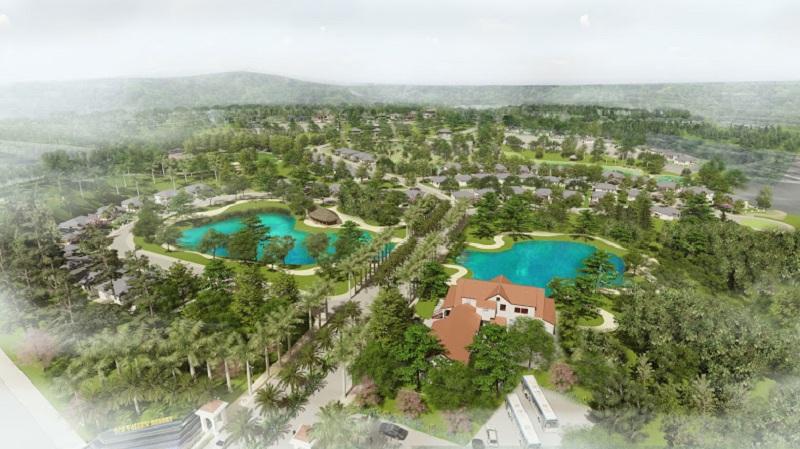 Phối cảnh 3 dự án nghỉ dưỡng La Saveur Hồ Đồng Chanh - Lương Sơn - Hòa Bình