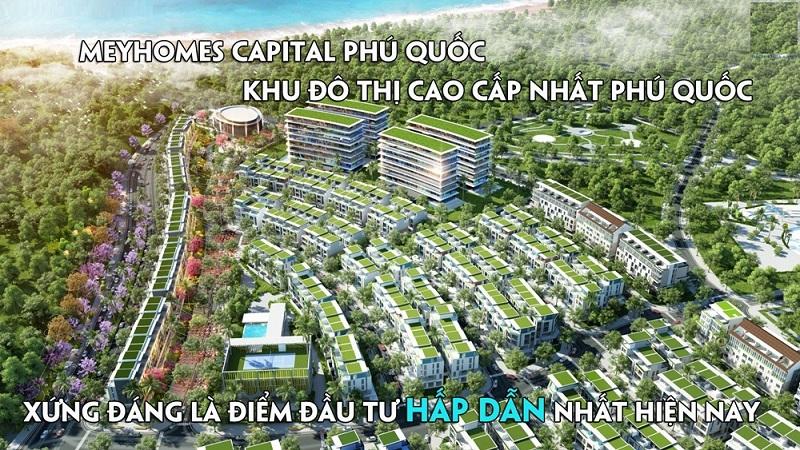 Phối cảnh 3 dự án Meyhomes Capital Phú Quốc - Tân Á Đại Thành