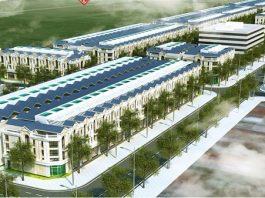 Phối cảnh dự án Khu đô thị Dĩnh Trì - Bắc Giang