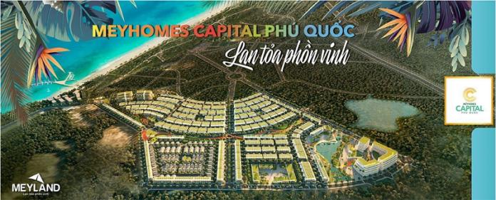 Phối cảnh dự án Meyhomes Capital Phú Quốc - Tân Á Đại Thành