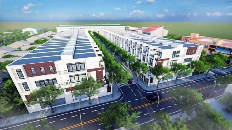 Phối cảnh dự án Suối Tân Diamond Town Cam Lâm - Khánh Hòa