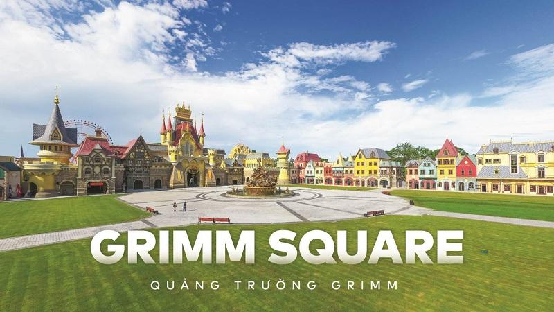 Quảng trường Grimm Square VinWonder Phú Quốc