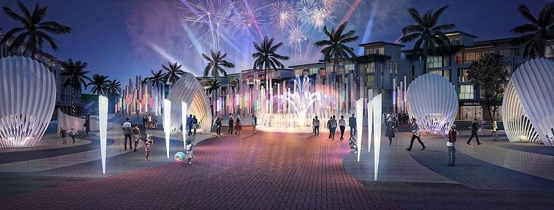 Quảng trường dự án Meyhomes Capital Phú Quốc - Tân Á Đại Thành