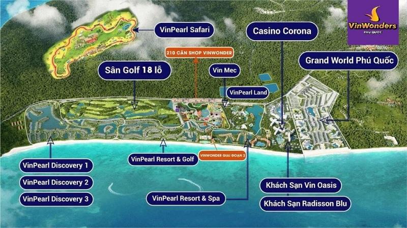 Quy hoạch khu vực Bãi Dài - Phú Quốc