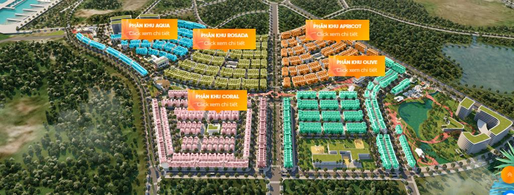 Quy hoạch phân khu dự án Meyhomes Capital Phú Quốc - Tân Á Đại Thành