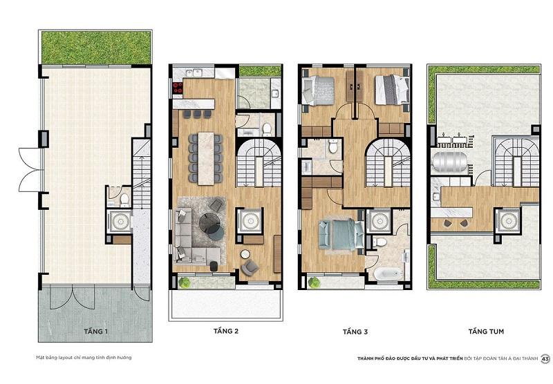 Shophouse Premium SP1-A dự án Meyhomes Capital Phú Quốc - Tân Á Đại Thành