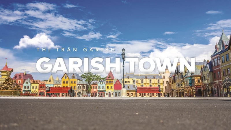 Thị trấn Garish Town VinWonder Phú Quốc