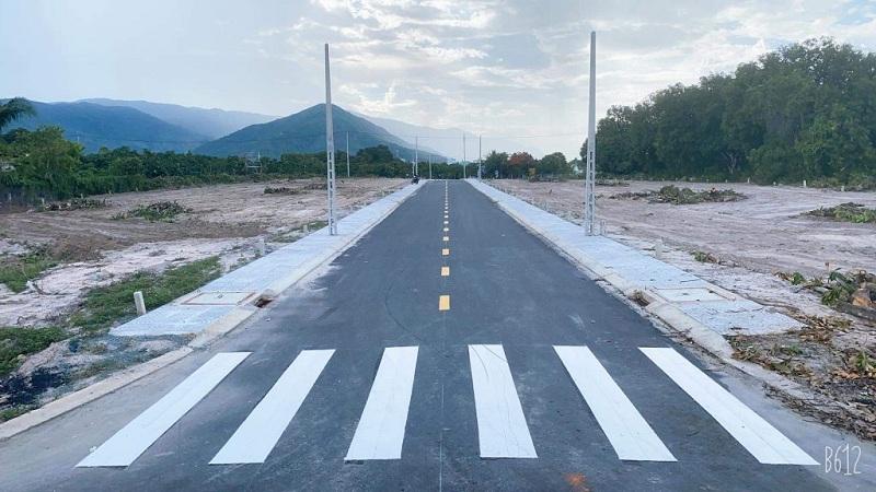 Tiến độ thực tế 1 hạ tầng Suối Tân Diamond Town Cam Lâm - Khánh Hòa