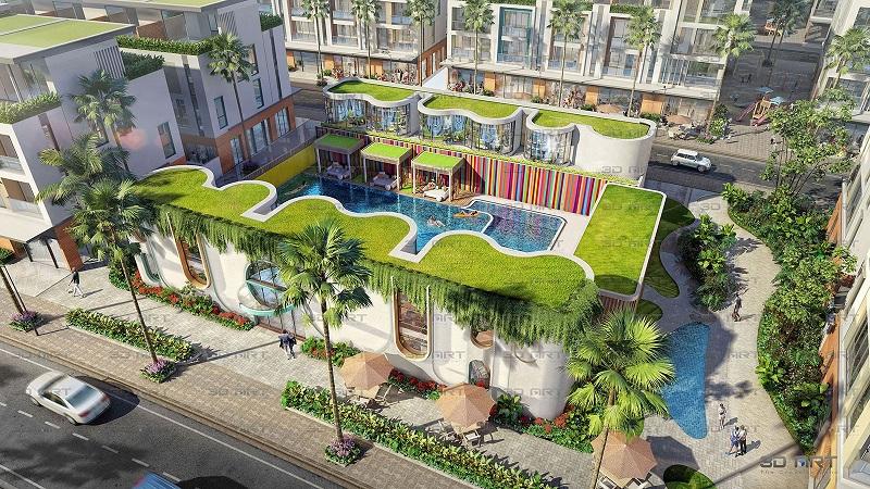 Tiện ích 2 dự án Meyhomes Capital Phú Quốc - Tân Á Đại Thành