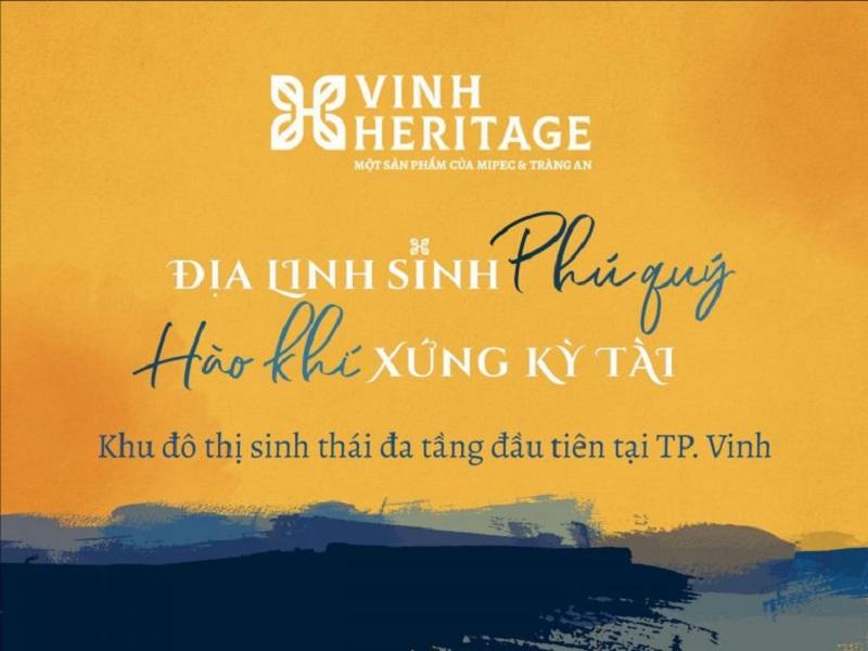 Ra mắt dự án Vinh Heritage Mipec Tràng An - Nghệ An