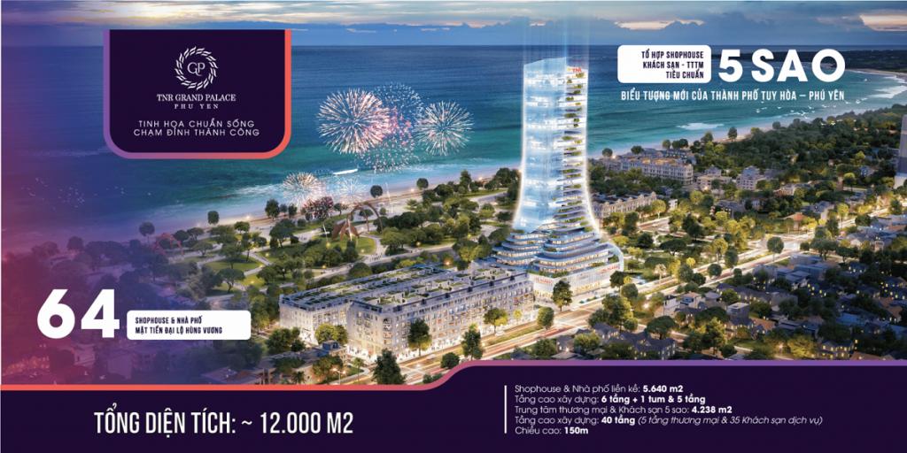 Bảng Giá dự án TNR Grand Palace Tuy Hòa - Phú Yên