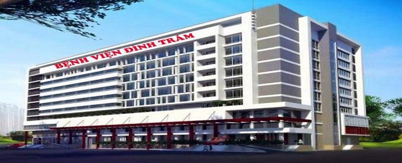 Bệnh viện dự án Khu Đô Thị Đình Trám Sen Hồ - Bắc Giang