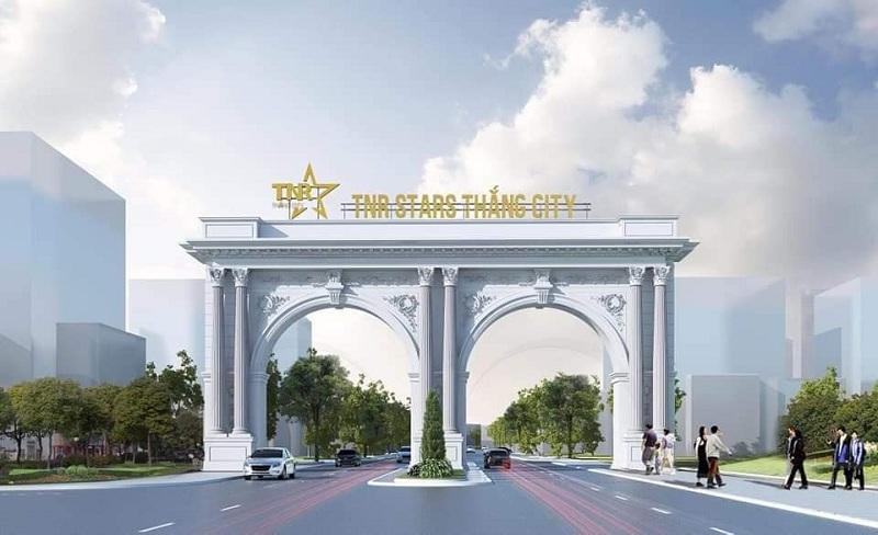 Cổng dự án TNR Stars Thắng City - Bắc Giang
