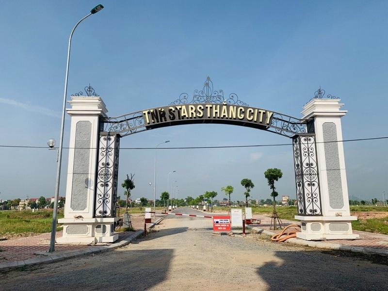 Cổng dự án TNR Star Thắng City - Bắc Giang