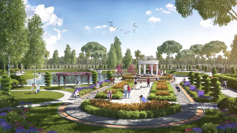 Công viên 2 dự án TNR Stars Thắng City - Bắc Giang
