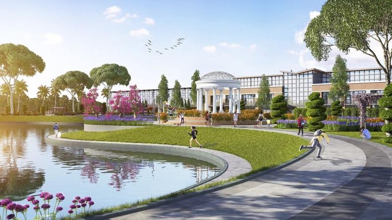 Công viên 3 dự án TNR Stars Thắng City - Bắc Giang