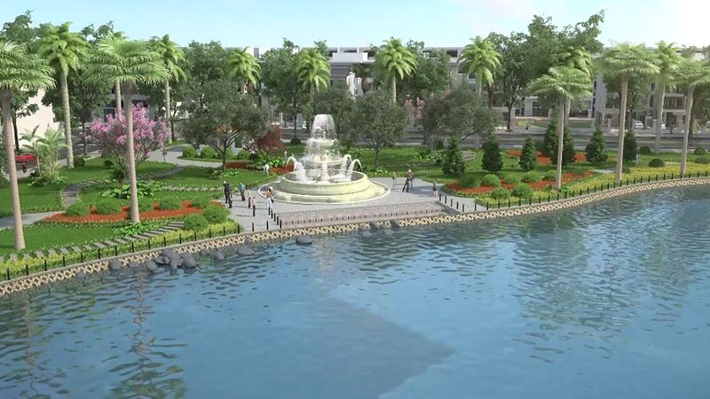 Công viên dự án Kosy Eden Xương Giang - Bắc Giang