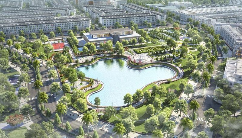 Công viên dự án TNR Stars Thắng City - Bắc Giang