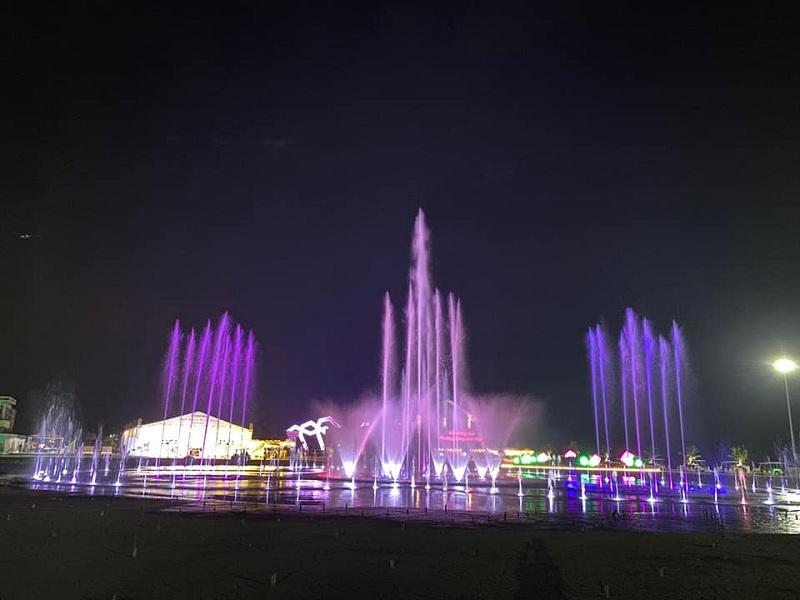 Đài phun nước khu đô thị Phương Đông
