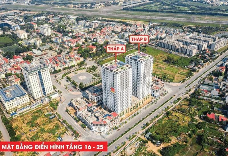 Flycam HC Golden City Bồ Đề - Long Biên