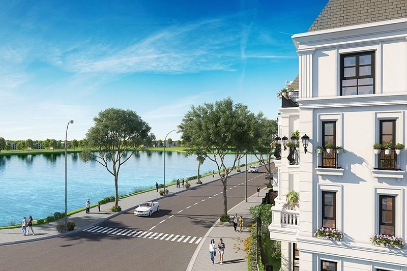 Giao thông Elegant Park Villa Thạch Bàn - MIK Group