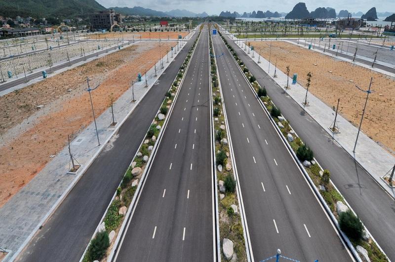 Hạ tầng giao thông hiện tại khu đô thị Phương Đông