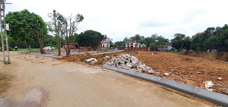 Hình ảnh thực tế 3 khu dân cư 44 lô Cánh Chủ - Bình Yên - Hòa Lạc