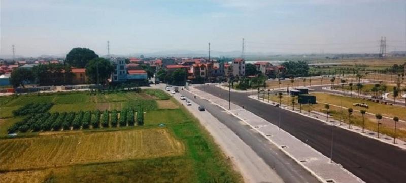 Hình ảnh thực tế 6 Yên Dũng Green Park - Thị trấn Neo - Bắc Giang