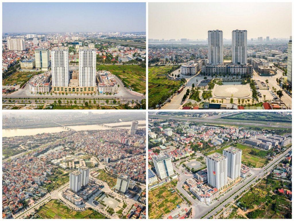 Hình ảnh thực tế chung cư HC Golden City Bồ Đề - Long Biên