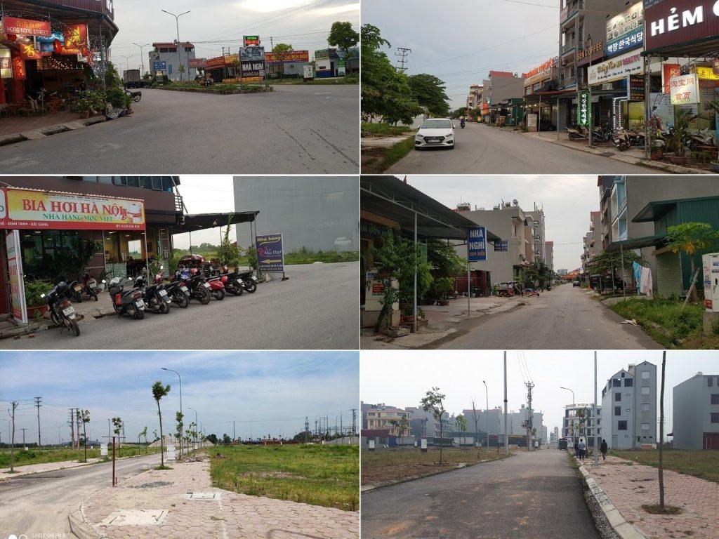 Hình ảnh thực tế dự án Khu Đô Thị Đình Trám Sen Hồ - Bắc Giang