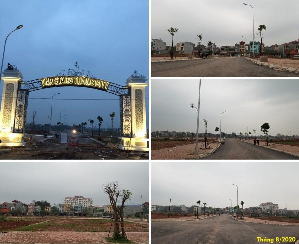 Hình ảnh thực tế dự án TNR Stars Thắng City - Bắc Giang