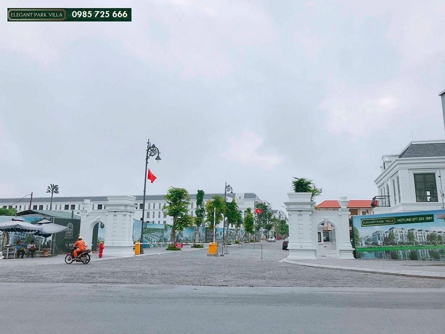 Hình ảnh thực tế 1 Elegant Park Villa Thạch Bàn - MIK Group