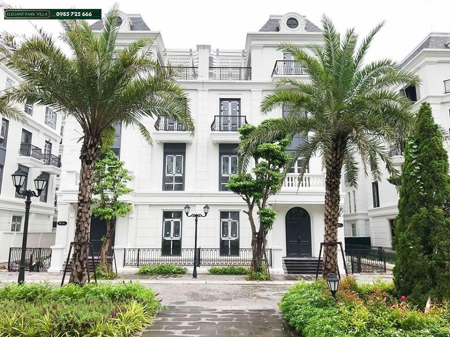 Hình ảnh thực tế 2 Elegant Park Villa Thạch Bàn - MIK Group