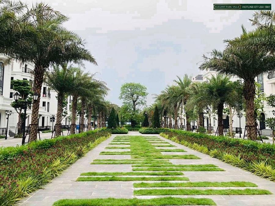 Hình ảnh thực tế 3 Elegant Park Villa Thạch Bàn - MIK Group