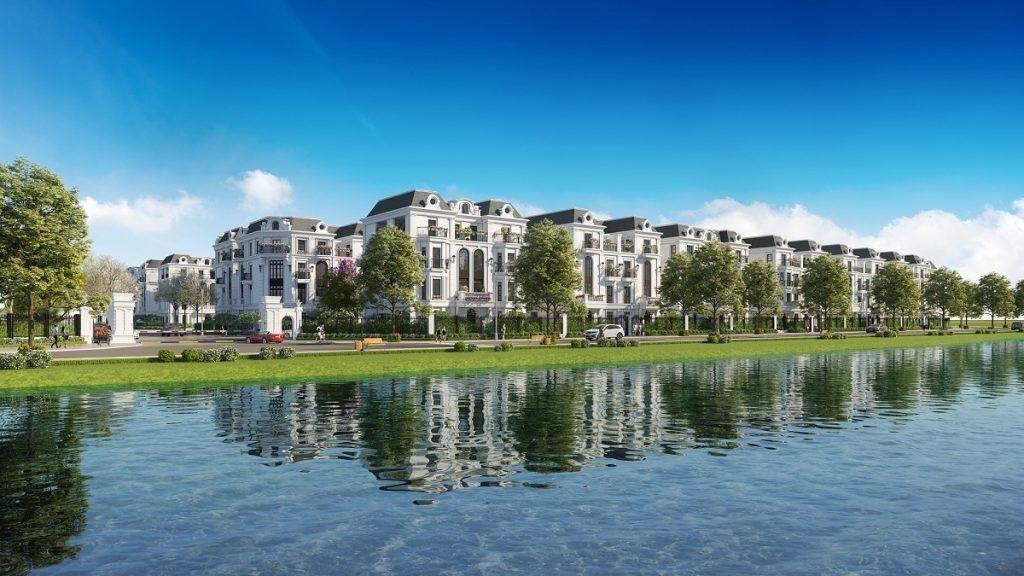 Hồ điều hòa Elegant Park Villa Thạch Bàn - MIK Group