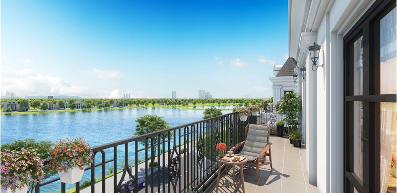 Không gian xanh Elegant Park Villa Thạch Bàn - MIK Group