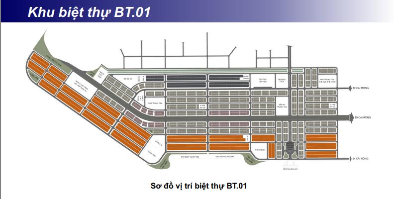 Khu biệt thự BT01 khu đô thị Phương Đông