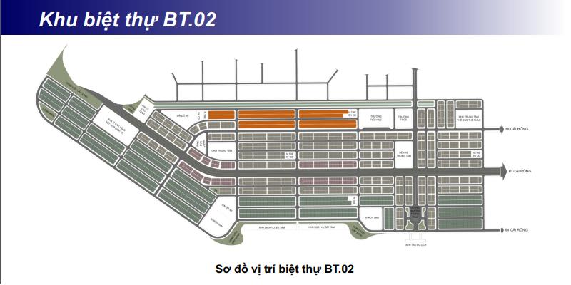 Khu biệt thự BT02 khu đô thị Phương Đông