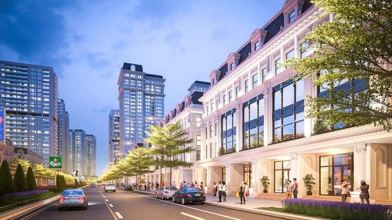 Liền kề dự án Hinode Garden City Kim Chung - Di Trạch - Hoài Đức