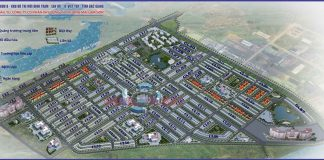Mặt bằng phân lô dự án Khu Đô Thị Đình Trám Sen Hồ - Bắc Giang