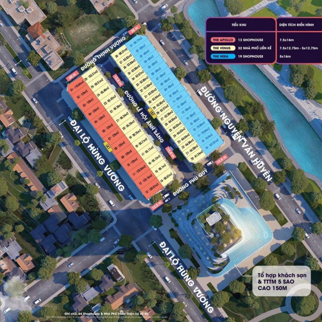 Mặt bằng phân lô dự án TNR Grand Palace Tuy Hòa - Phú YênMặt bằng phân lô dự án TNR Grand Palace Tuy Hòa - Phú Yên