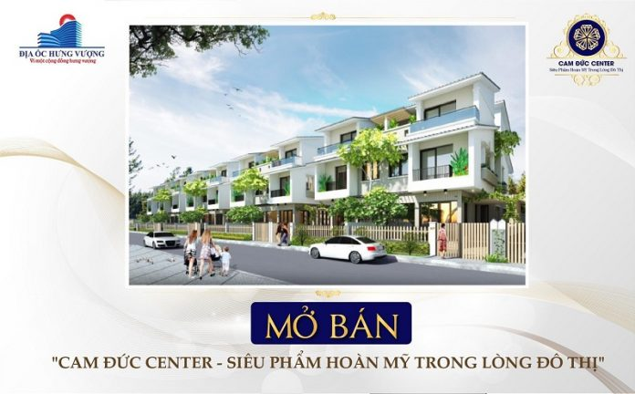 Mở bán dự án Đất Nền Cam Đức Center - Khánh Hòa